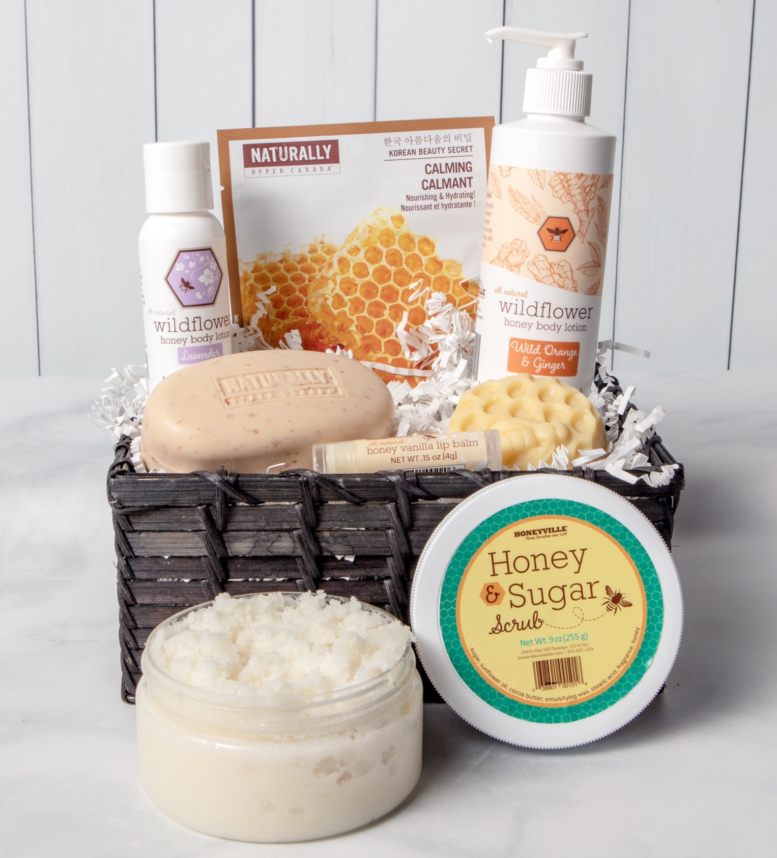 BODY CARE GIFT BASKET