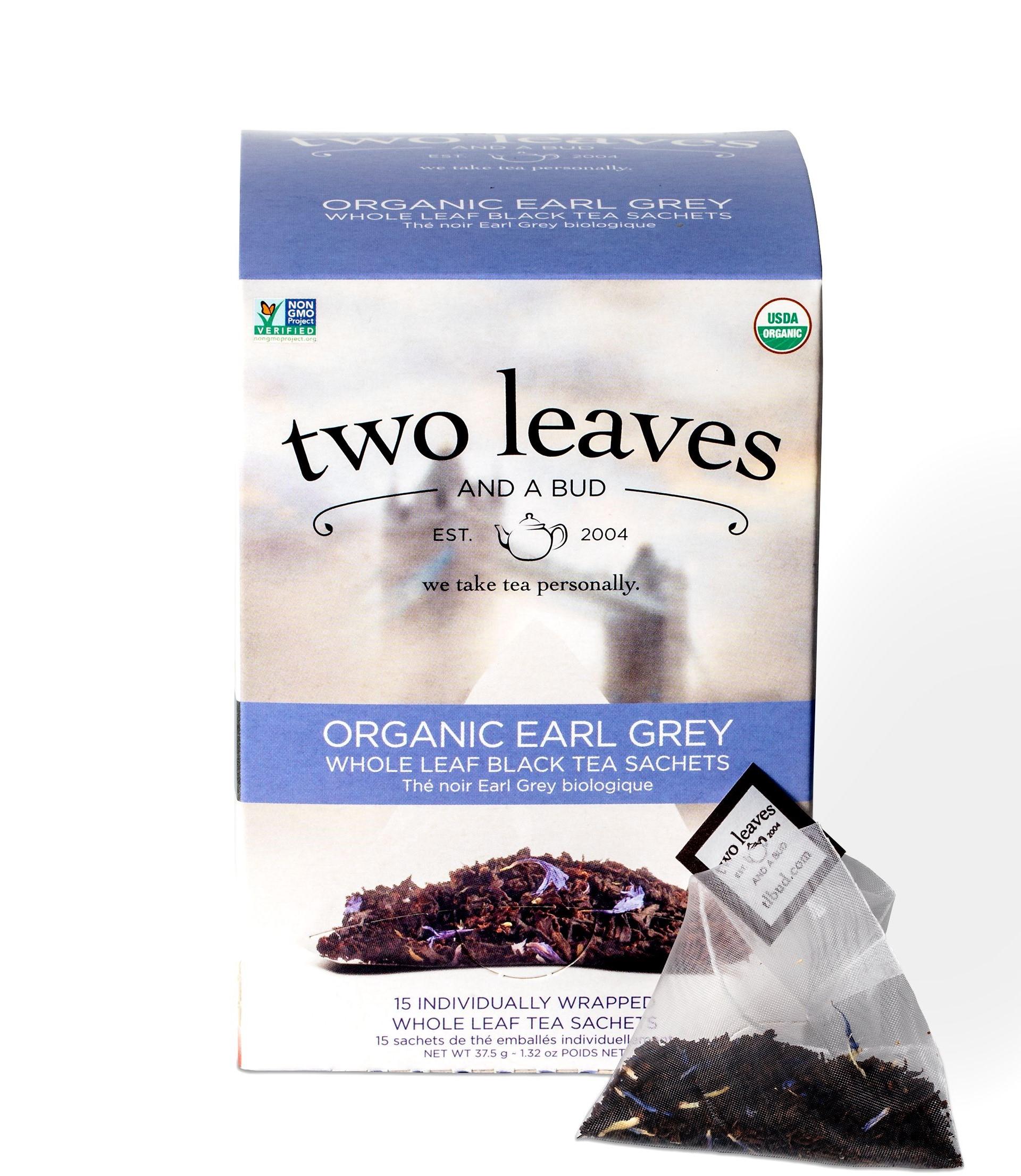 TEA: TWO LEAVES ORGANIC EARL GREY