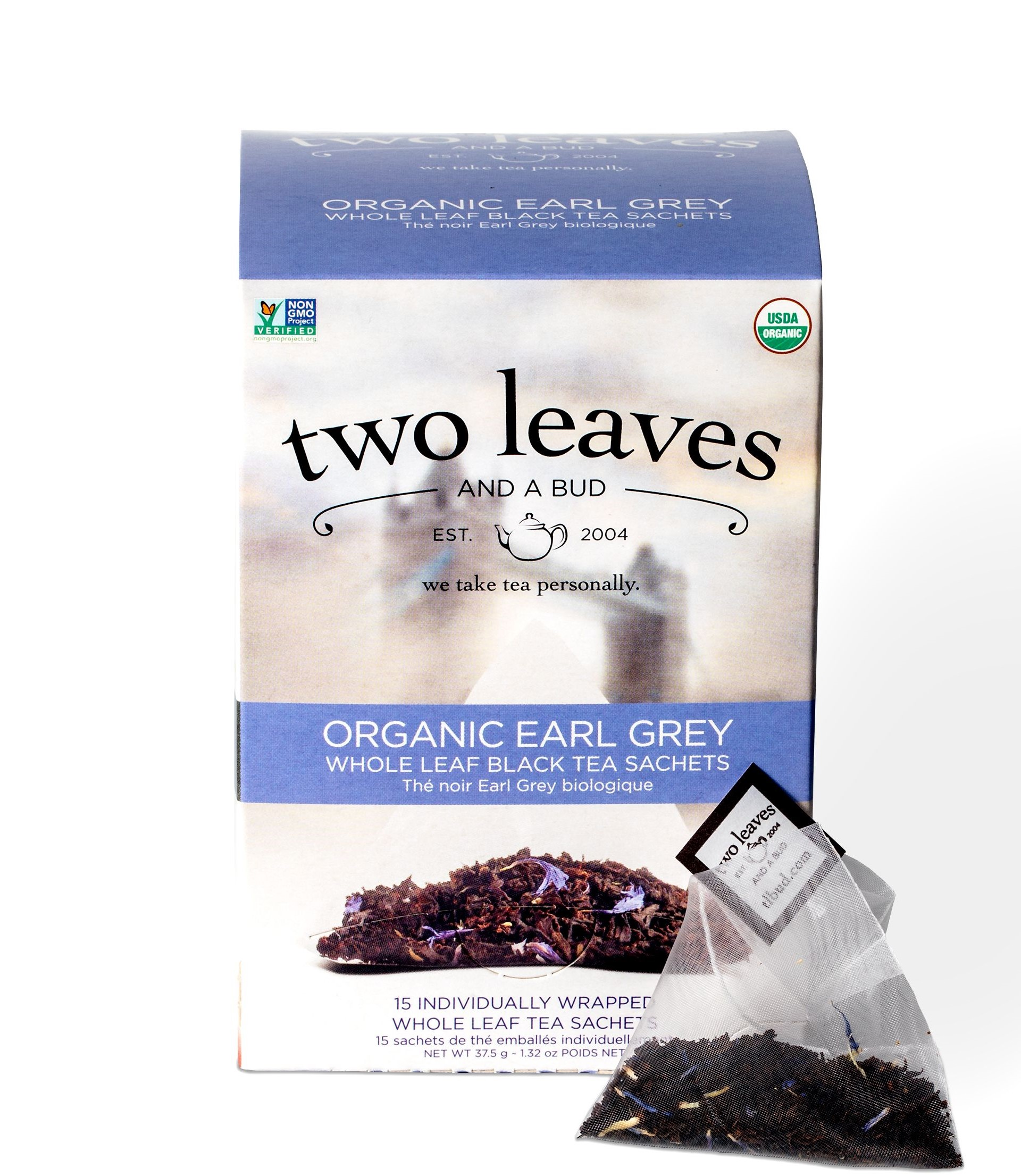TEA: TWO LEAVES ORGANIC EARL GREY