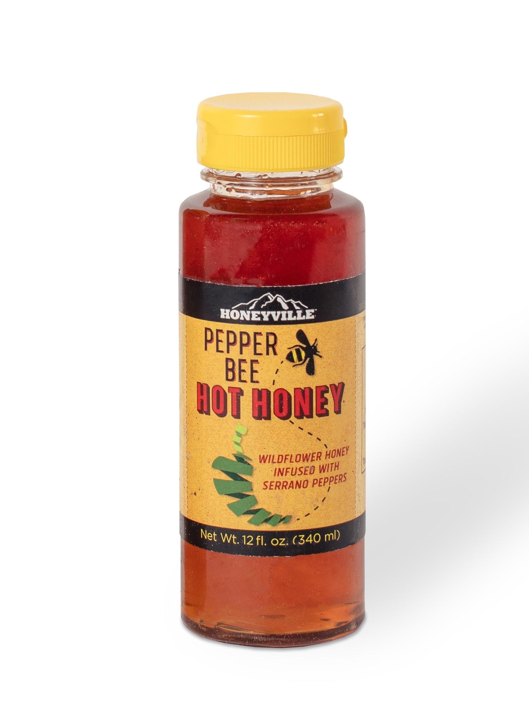 HONEY: PEPPER BEE HOT HONEY 12 OZ