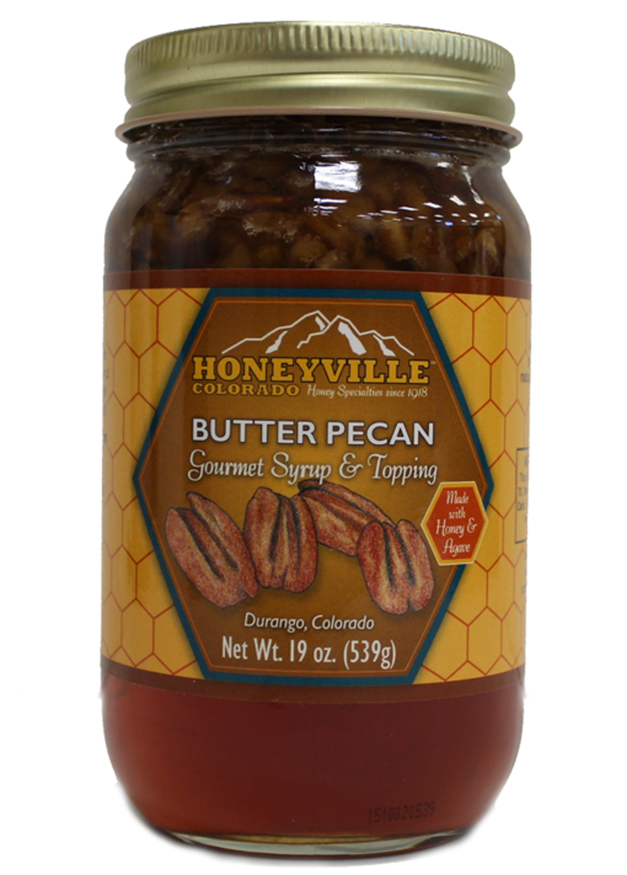 Honeyville Hand Crafted Butter Pecan Syrup