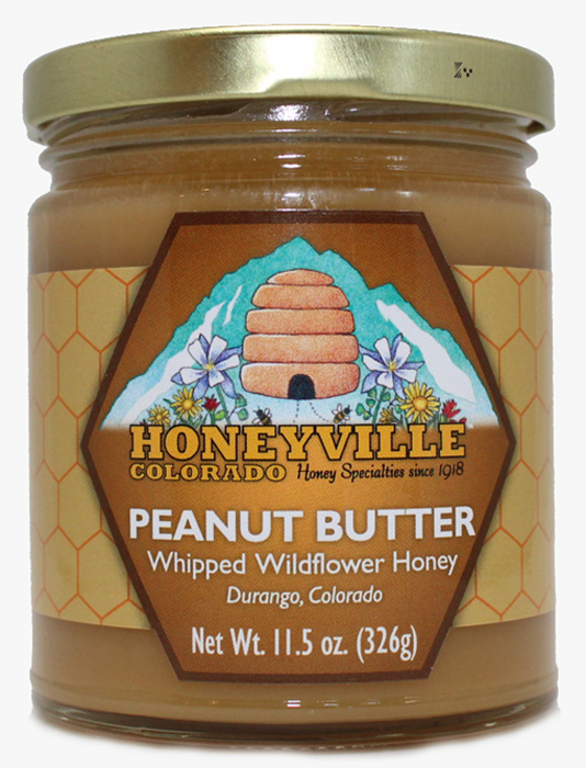 PEANUT BUTTER WHIPPED HONEY