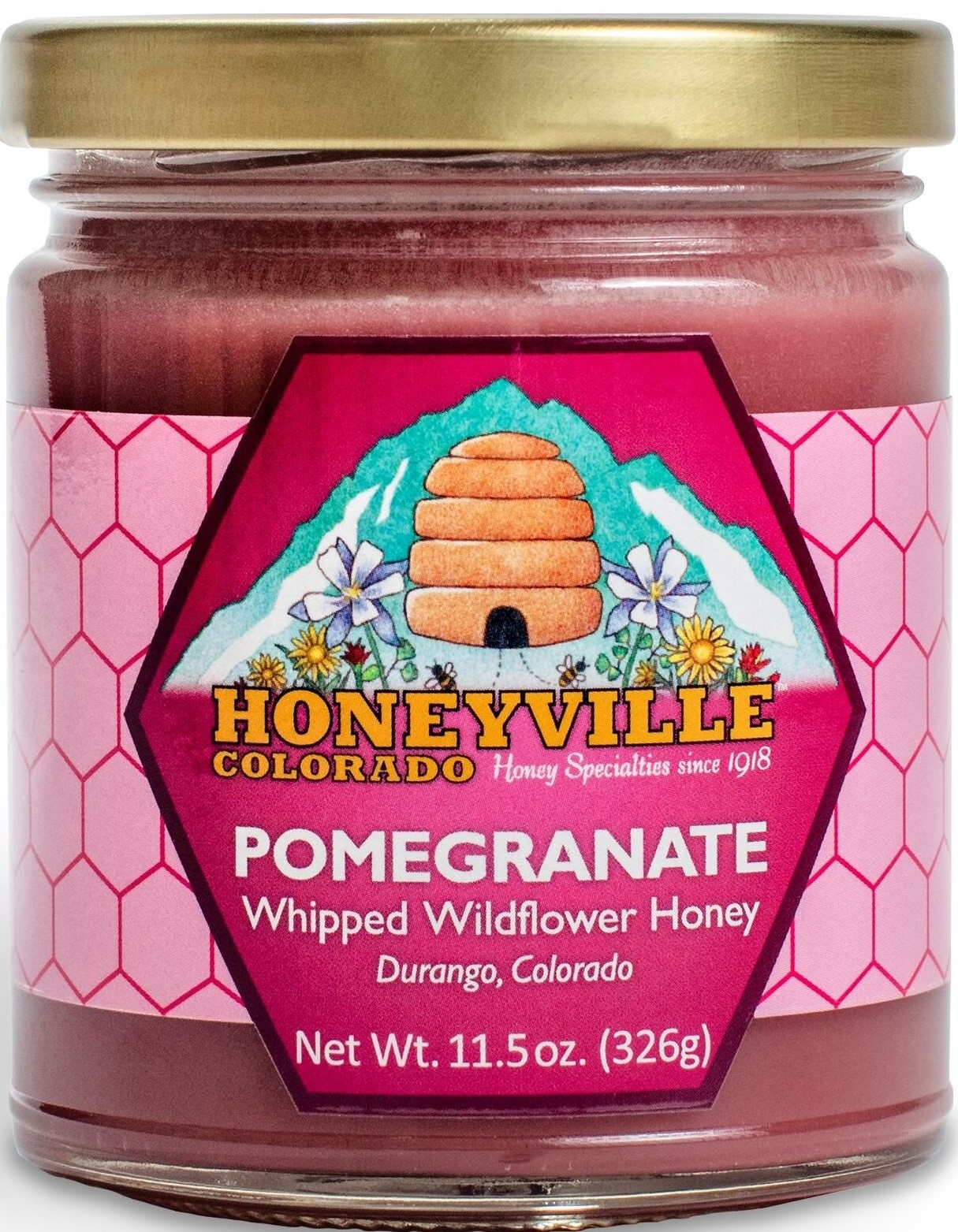 POMEGRANATE WHIPPED HONEY