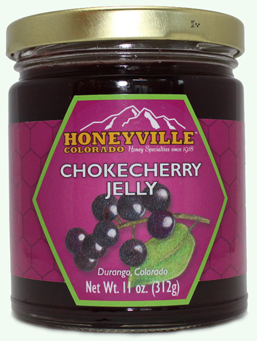 CHOKECHERRY JELLY 11 oz