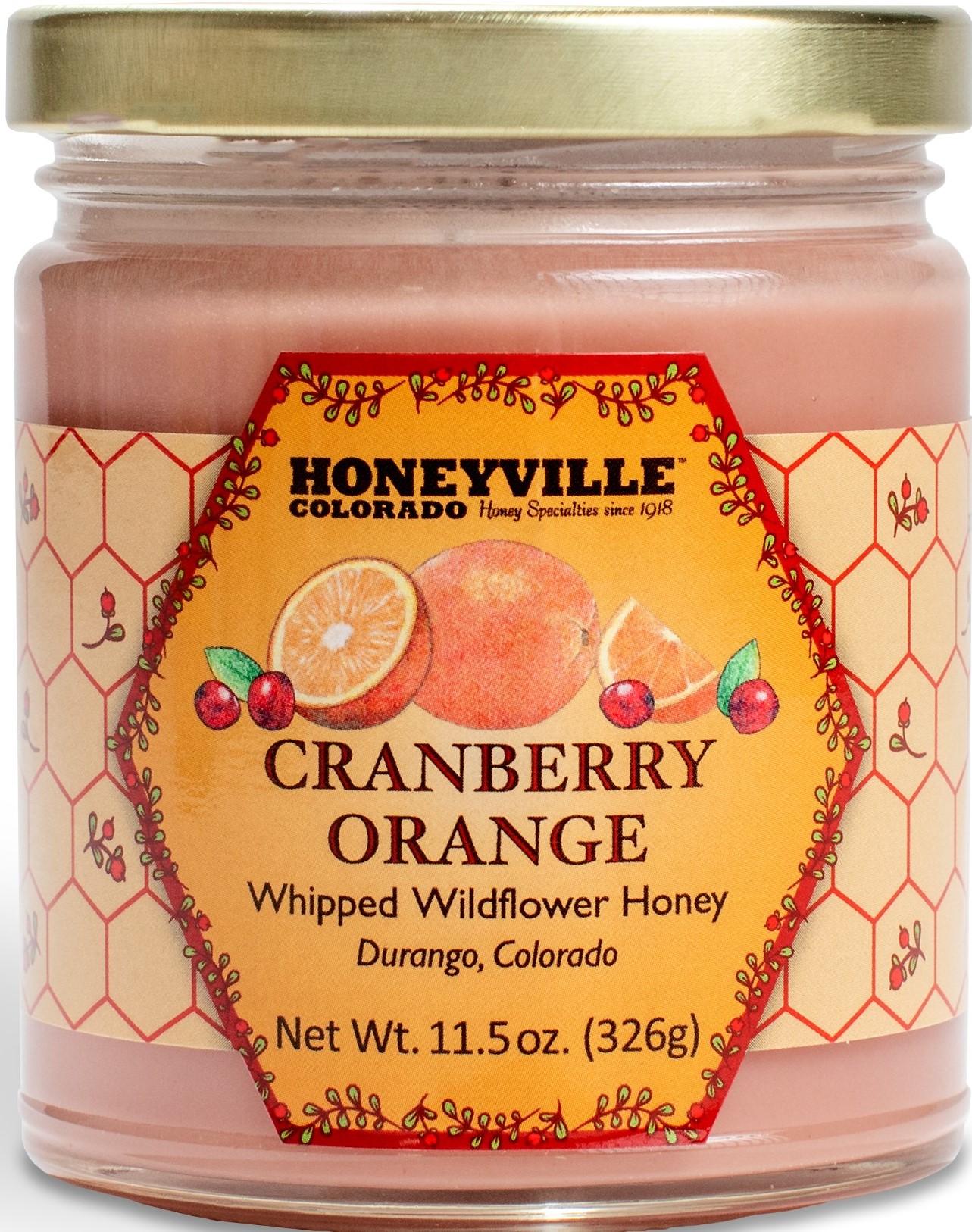 CRANBERRY ORANGE WHIPPED HONEY