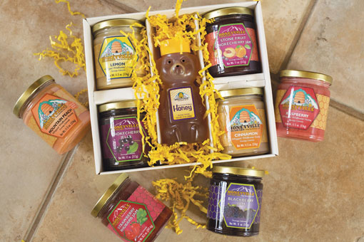 "GIFT BOX: PICK 5 ""TASTE OF DURANGO"" W/HONEYBEAR PLUS FOUR"