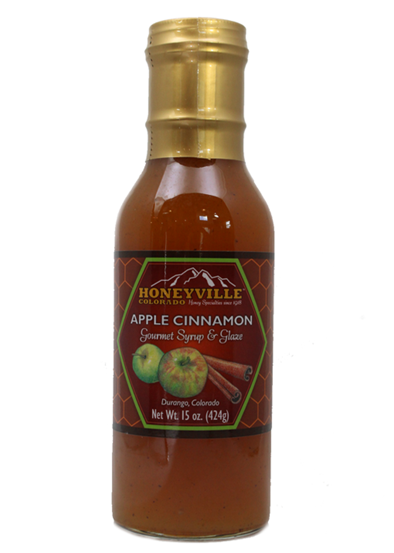 APPLE CINNAMON HONEY SYRUP