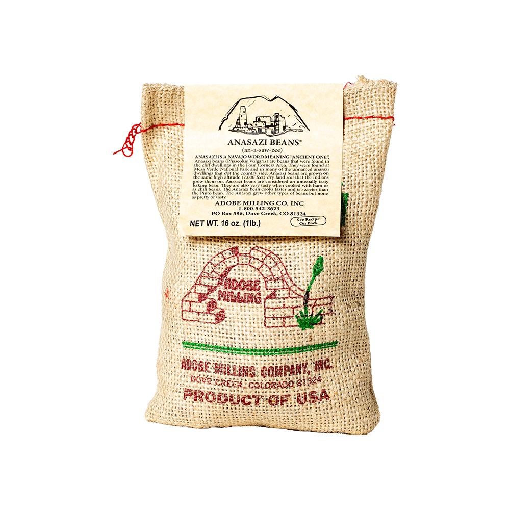 Product Image of ANASAZI BEANS BURLAP 1 LB