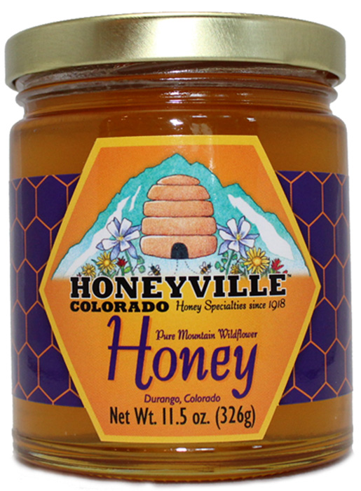 MOUNTAIN WILDFLOWER HONEY 11.5 OZ