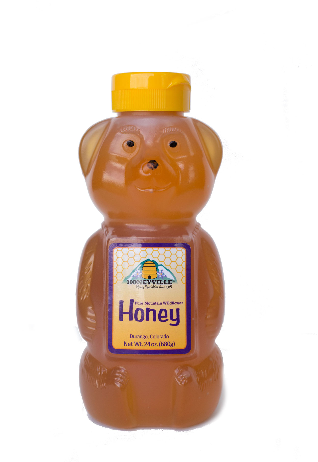 MAMA BEAR:  MOUNTAIN WILDFLOWER HONEY 24 OZ