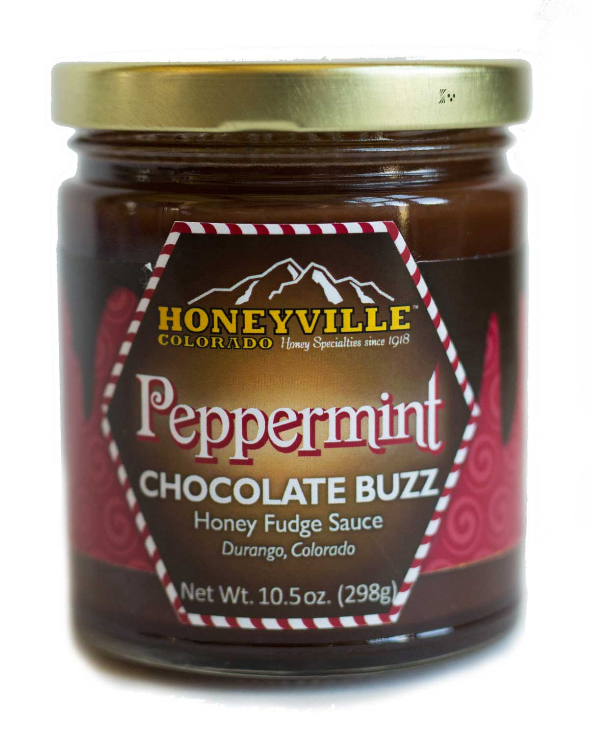 DESSERT TOPPING: PEPPERMINT CHOCOLATE BUZZ
