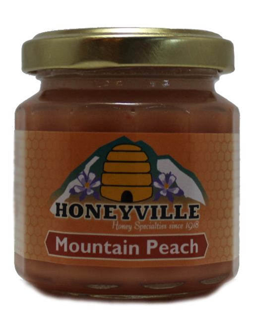 Mini: Mountain Peach Whipped Honey