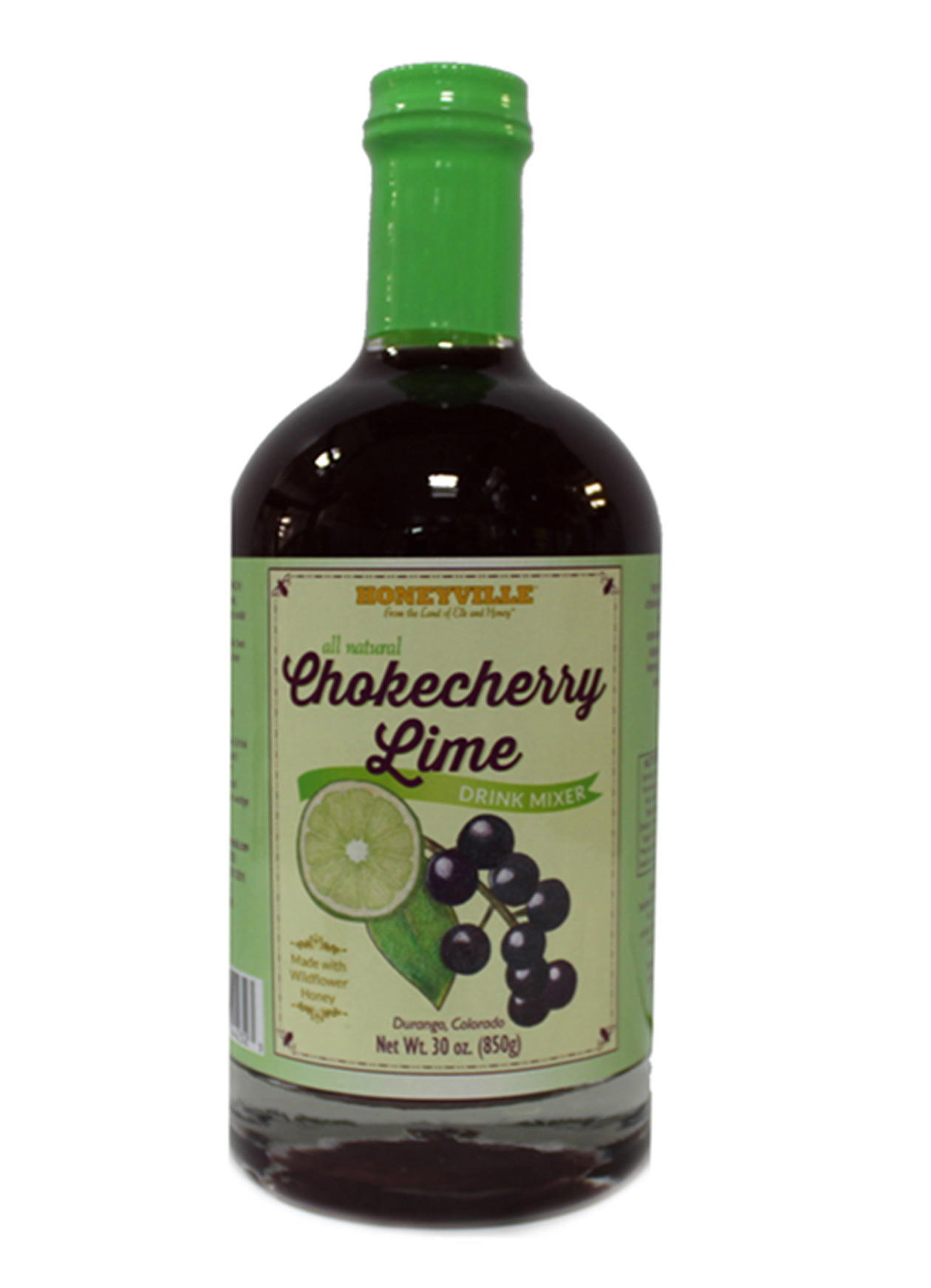 CHOKECHERRY LIME DRINK MIXER 30 oz