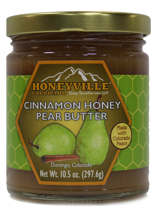CINNAMON HONEY PEAR BUTTER