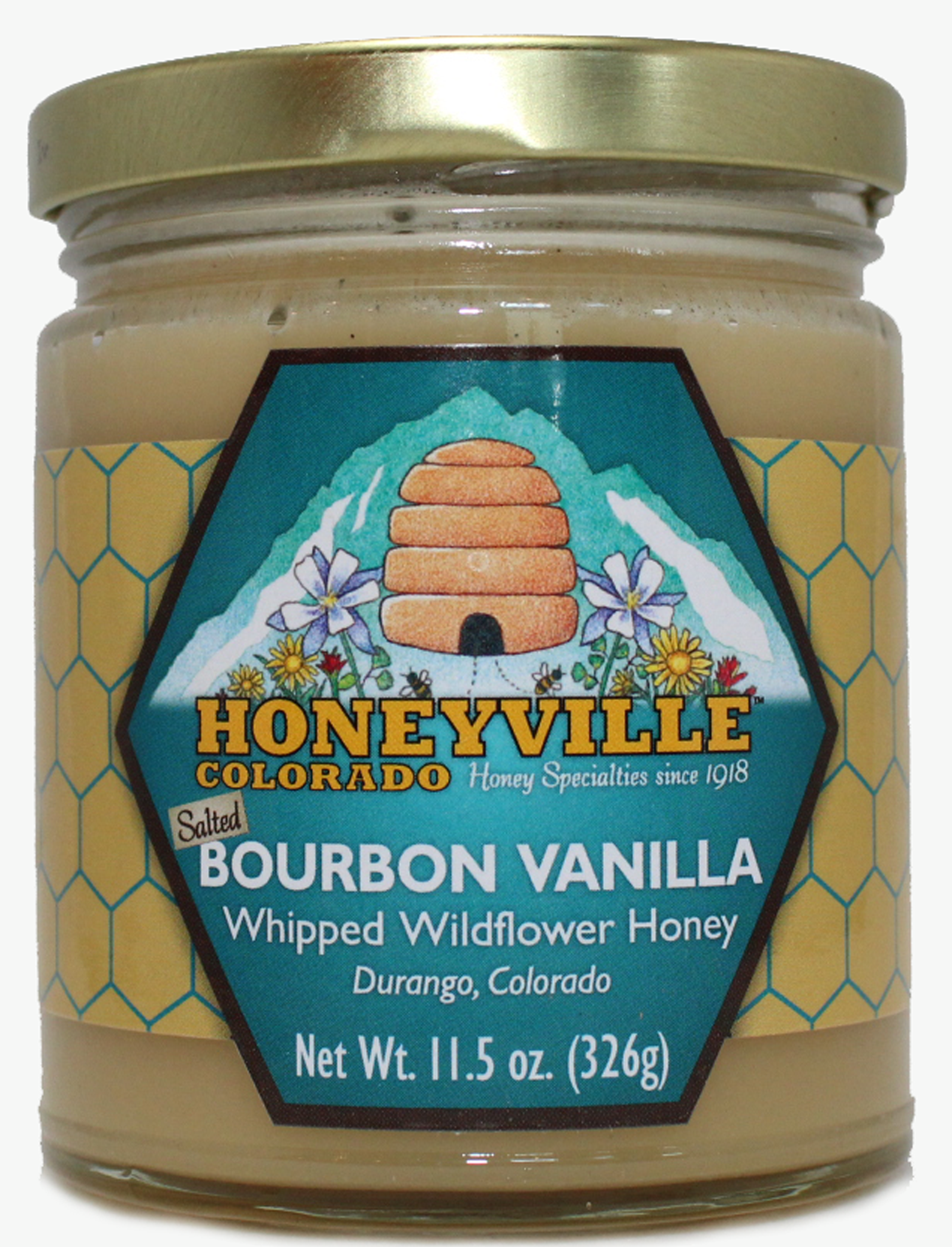 SALTED BOURBON VANILLA WHIPPED HONEY