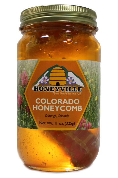 HONEYCOMB IN A JAR:   23 OZ