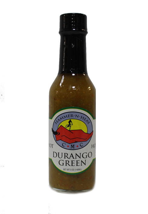 DURANGO GREEN HOT SAUCE (HOT) 5 OZ