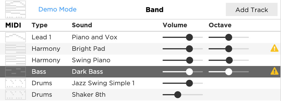 The Hookpad band editor now shows if any sound patches fail to load.
