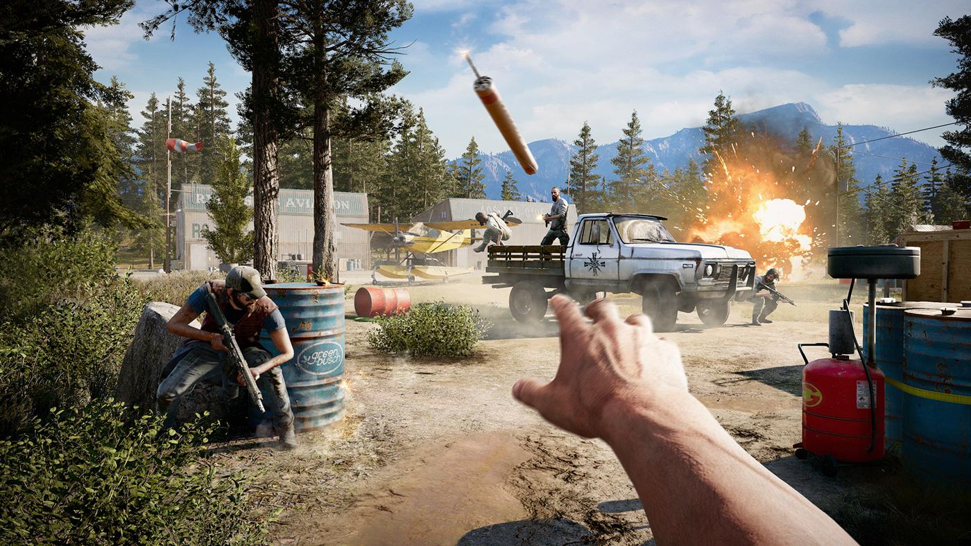 Far Cry 5 boom