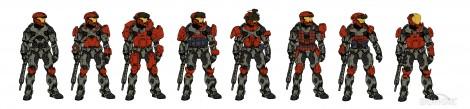 Halo: Reach Customization Concepts