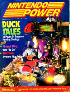 Duck Tales Nintendo Power