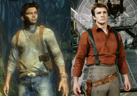 Uncharted Movie with Nathan Fillion