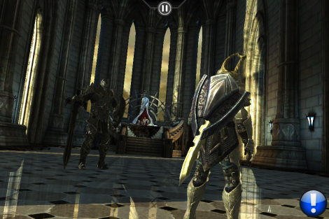 Infinity Blade, the god king