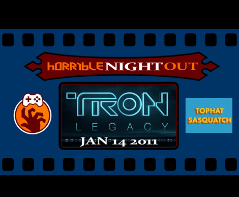 Horrible Night Out Tron: Legacy