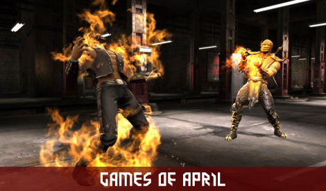 Games of April Preview