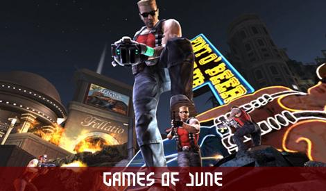 Games of June Duke Nukem Forever