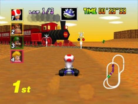 Mario Kart 64 Train