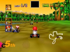Mario Kart 64 Donkey