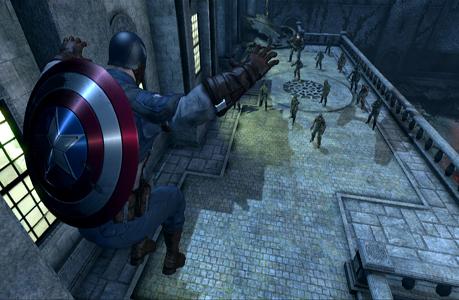 Captain America Powers