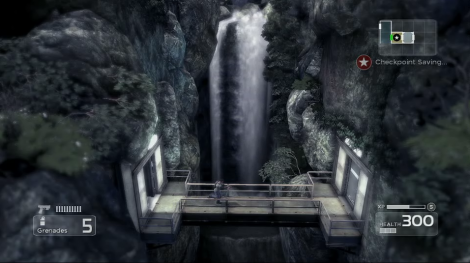 Shadow Complex Waterfall