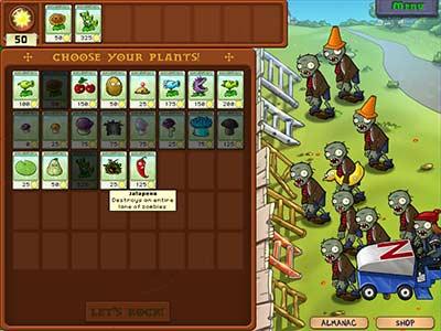 Plants vs Zombies Setup