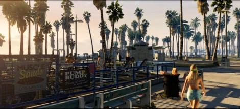 Grand Theft Auto V City