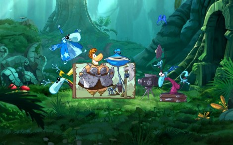 Rayman Origins Photo Op