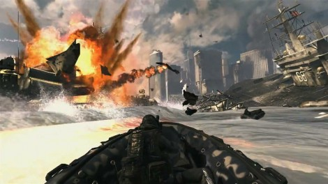 Modern Warfare 3 Boat Getaway