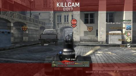 Modern Warfare 3 Killcam