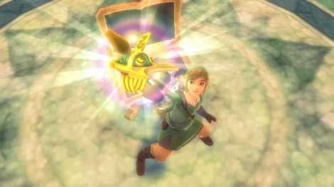 Link finds gadget in chest