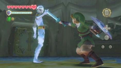 Link versus a stylish boss