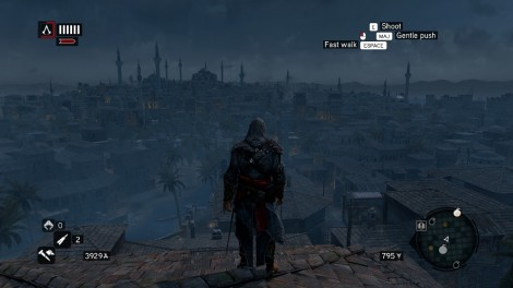 Assassin's Creed: Revelations at night