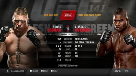 Xbox Live UFC 141