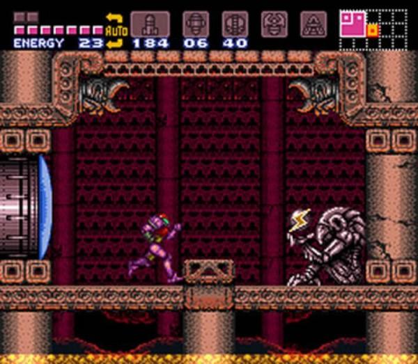 Samus Aran Cosplay Varia Suit Creepy Alien Husk