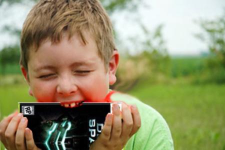 Hungry kid