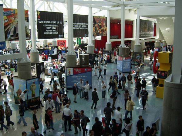E3 Expo Crowds | photo by benchrisen | Flickr