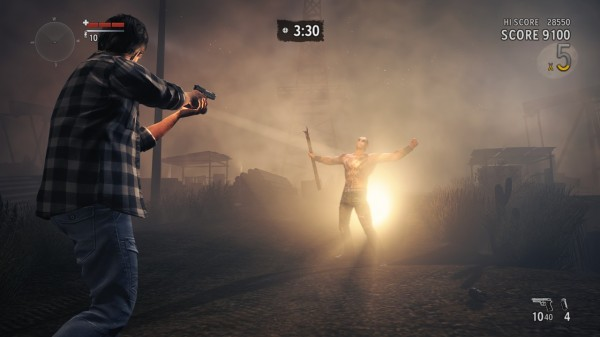 Alan Wake's American Nightmare Arcade Mode