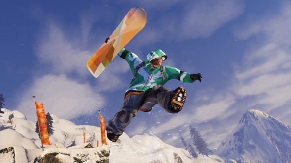 Mac pulling off major trickage in SSX