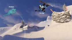 Elise and a ghost compete for tricks in SSX