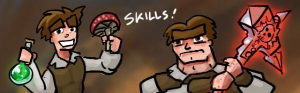 Dungeons of Dredmor Skills